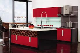 Red Kitchen Cabinet Knobs Red Kitchen Cabinets Kitchentoday
