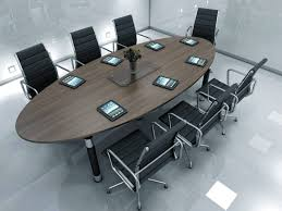 Circular Meeting Table Round Office Conference Table Modern Conference Table And Chairs