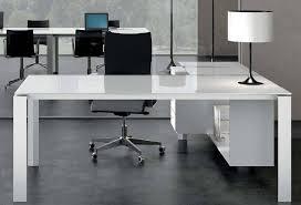 bureaux en verre bureau blanc laqu et verre achatdesign of bureau en verre blanc