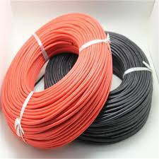 100 meters roll 10 awg super soft and flexible silicone rubber
