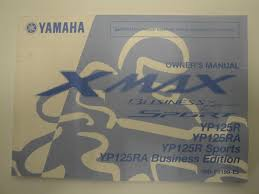 genuine 2010 yamaha yp125r yp125 r ra xmax owners manual 39d f8199