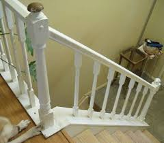 How To Refinish A Banister Question On Prepping Painting My Banisters Hometalk