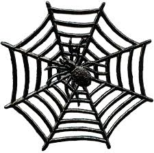 halloween spider webs clip art
