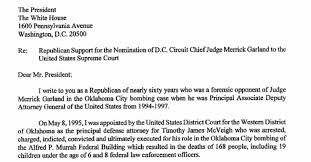 lawyer in oklahoma bombing commends garland in letter to obama