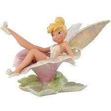 your wdw store disney lenox figurine flower frolic tinker bell
