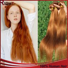 cheap human hair extensions cheap mongolian hair 3pcs highlight brown human