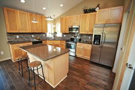 Natural Shaker Kitchen Cabinets RTA Kitchen Cabinets - Natural maple kitchen cabinets