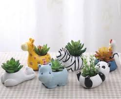 animal planter ceramic animal planters trip boulevard