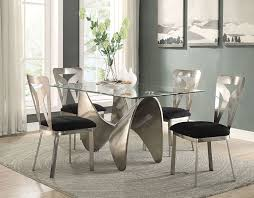Silver Dining Room Widforss Antique Silver Dining Set Acme 72320