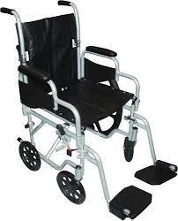 Drive Wheel Chair Poly Fly High Strength Lightweight Wheelchair Transport Chair