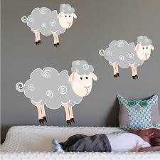 Decals Nursery Walls Sheep Wall Decals Nursery Wall Decal Murals Primedecals