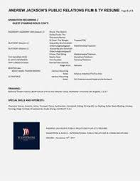 Public Relations Resume Example by Public Relations Executive Resume Example Executive Resume
