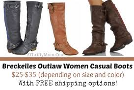 womens boots on amazon breckelles outlaw casual boots 25 35 with free shipping