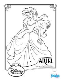 coloriage princesse ariel a imprimer