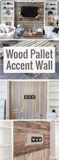 How To Make A Bed Like A Pro How To Create A Wood Pallet Accent Wall Pallet Accent Wall