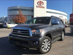 toyota suv sequoia 2017 toyota sequoia for sale stouffville on