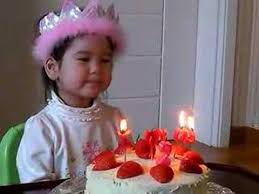 llana blowing out candles youtube
