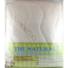Organic Crib Mattress Pad Organic Cotton Mattress Pad Cover By Jupiter