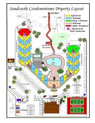 Texas Beaches Map Sandcastle Condominiums Port Aransas Resorts Portaransas Texas Com