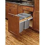 Wooden Kitchen Garbage Cans by Amazon Com Wood Kitchen Trash Cans Trash Recycling U0026 Compost