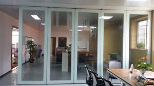 Interior Folding Glass Doors Folding Glass Partition Wall Interior Glass Door For Banquet