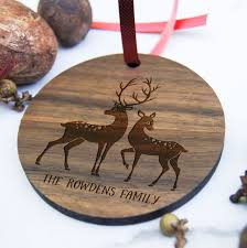 christmas ornament personalized wooden ornament christmas