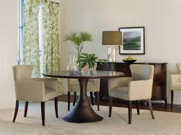 dining room decorations pedestal table modern round pedestal