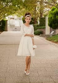 casual wedding dresses with sleeves 2015 casual wedding dresses elasdress
