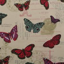 Curtain Upholstery Fabrics 100 Heavy Cotton Panama Printed Childrens Curtain Cushion