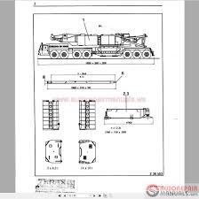 auto repair manuals terex demag tc 2600 500t shop manual