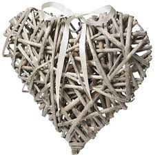 heart shaped writing paper wedding venue decorations and bunting hobbycraft natural wicker heart decoration 10 x 10 cm