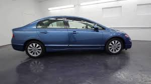 09 honda civic rims 2009 honda civic ex atomic blue metallic 9h539347 seattle