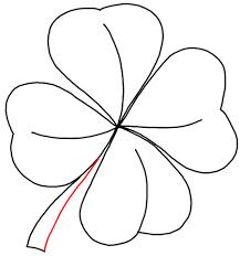 draw 4 leaf clovers u0026 shamrocks st patricks