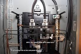 sub panel grounding question electrical diy chatroom home