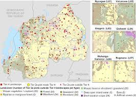 Rwanda Map Sampling Frame Maps Vital Signs