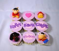 sinchan lolcake sinchan cupcakes