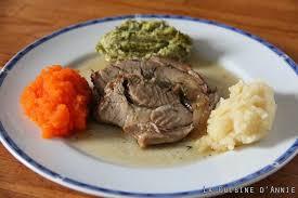 cuisiner le roti de veau recette rôti de veau aux 3 purées la cuisine familiale un plat