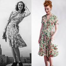 1940s dresses 1940s fashion style guide the house of foxy