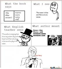 Author Meme - what the author really meant by 15celeron meme center