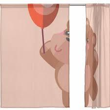 Curtain Cartoon by Aliexpress Com Buy Sheer Door Curtain Panels W55xl78 Inch
