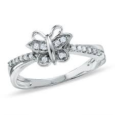 butterfly engagement rings butterfly rings wedding promise engagement