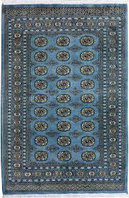 7 X 10 Rugs On Sale Grey Blue Oriental Bokhara Rug 4 U0027 7