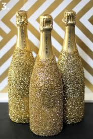 how to decorate a wine bottle for a gift decorated wine bottles for new year party home designing
