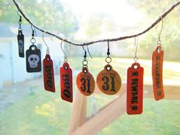 die cut halloween earrings lulabelle handicrafts