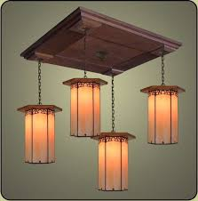 Arts Crafts Lighting Fixtures 23 Best Mission Craftsman Pendant Lighting Images On Pinterest