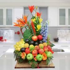 fruit and flowers fruit basket flowers to bogota cali barranquilla