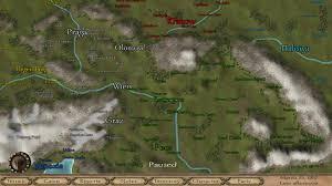 mount and blade map 1257 ad of europe kırmızı