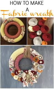 best 25 fabric wreath tutorial ideas on pinterest wreath making
