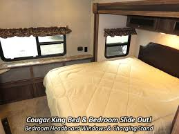 Travel Trailers With King Bed Slide Out 2017 Keystone Cougar Xlite 32fbs Travel Trailer Coldwater Mi