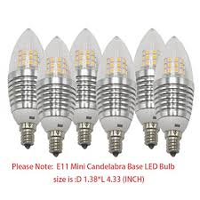 l bulb base sizes ashialight e11 base bulb e11 led dimmable soft white equal 75 watt